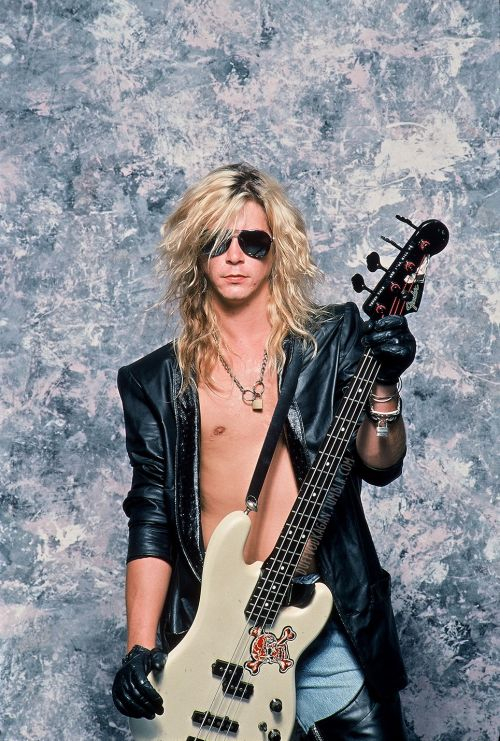 Duff McKagan by Neil Zlozower, 1988