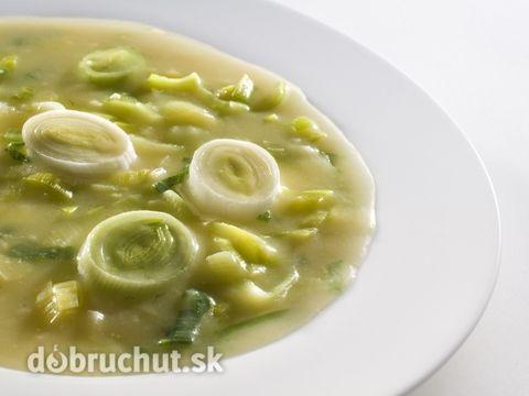 Zemiakovo-pórová polievka
