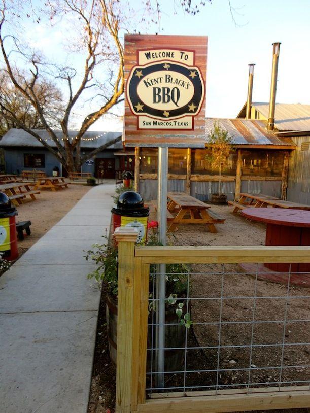 Kent Black's BBQ, San Marcos, TX