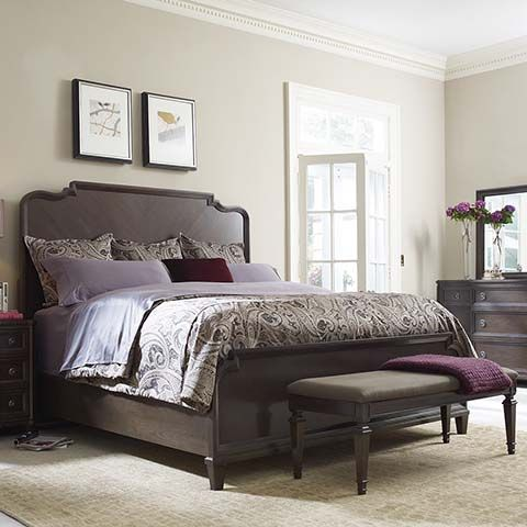 115 best images about master bedroom ideas on pinterest for Plum and cream bedroom designs