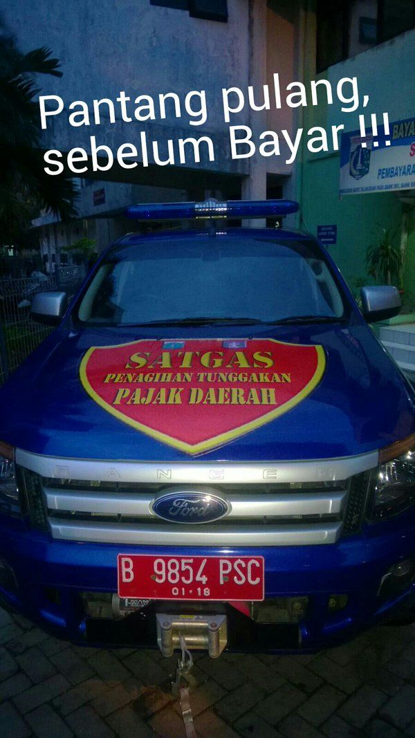 Satgas Penagihan Tunggakan Pajak Daerah UPPD Jatinegara