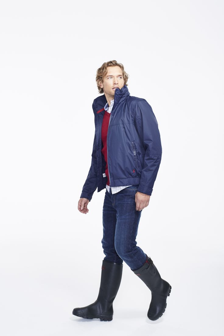 Joules Mens Kendal Bomber Jacket I Spring/Summer 2015 Collection #Jacket #Waterproof