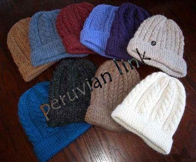 Trenza Cable Alpaca Hat, $30.00