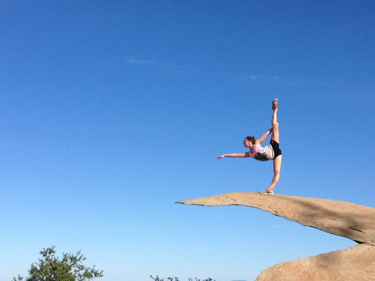 Yogi on the Potato Chip Rock in Poway, CA   Fitness/Health/Dance/Yoga ...