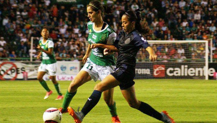 Estadio León al borde del lleno en juego de Liga MX Femenil - Diario Deportivo Record