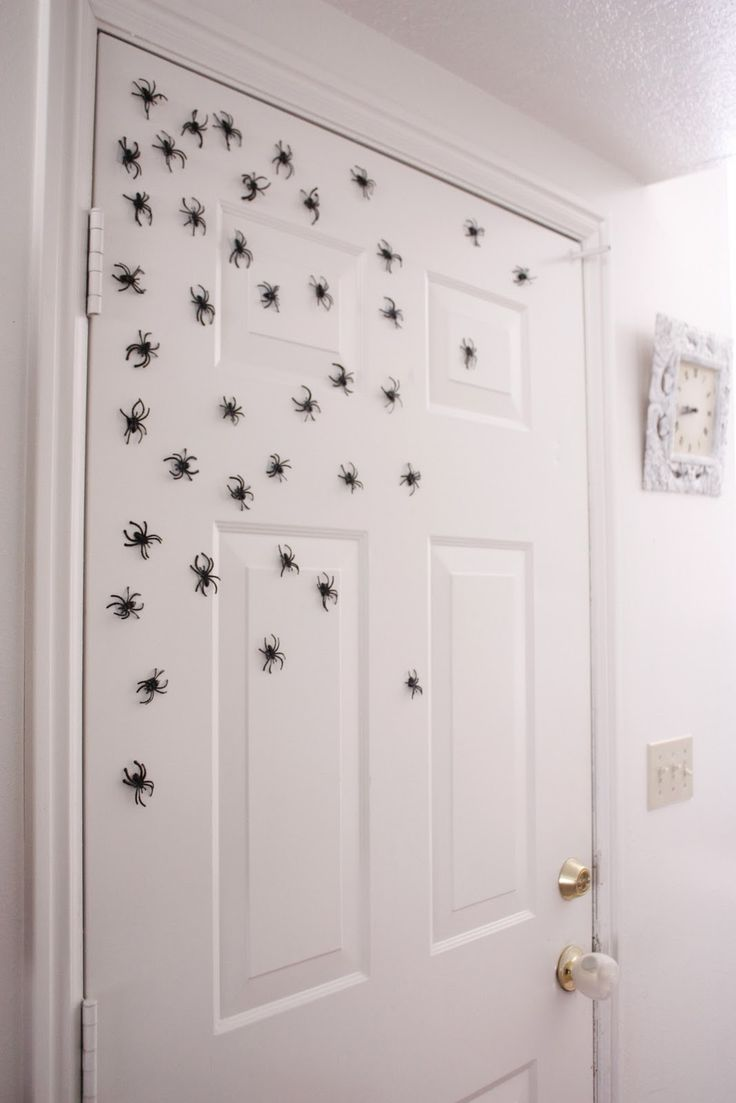1000+ images about Haunting  Spider Nest Decorations on  ~ 015650_Halloween Door Magnets