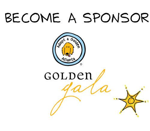 Adopt A Golden Atlanta Golden Retriever Rescue: Golden Gala Sponsor