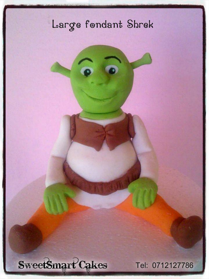 Fondant Shrek For info & orders email sweetartbfn@gmail.com
