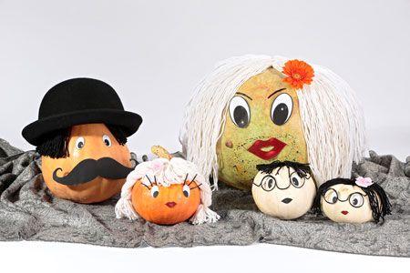 Из тыквы на #Хэллоуин – своими руками: украшения и подарки #Halloween #pumpkin