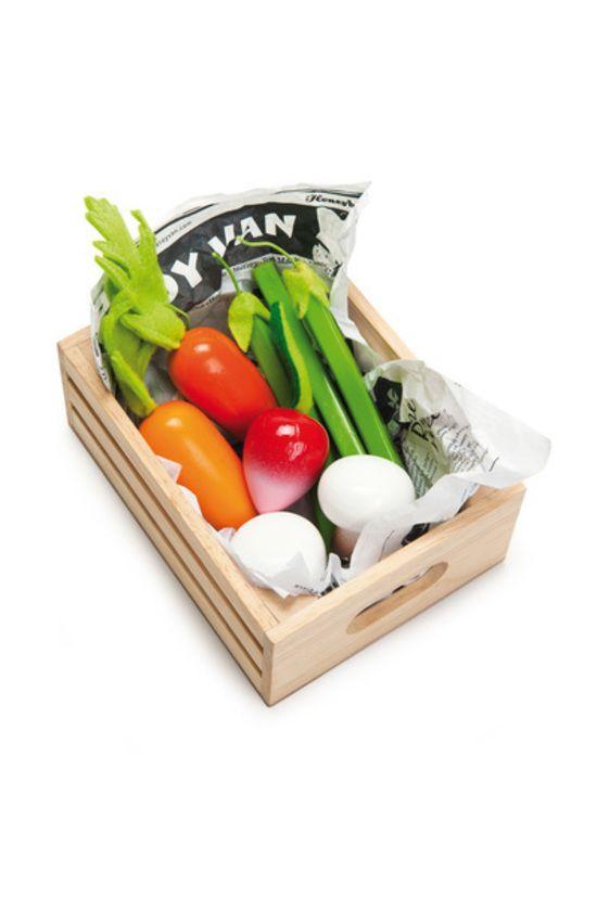 Le Toy Van Harvest Vegetables Market Crate $23.90