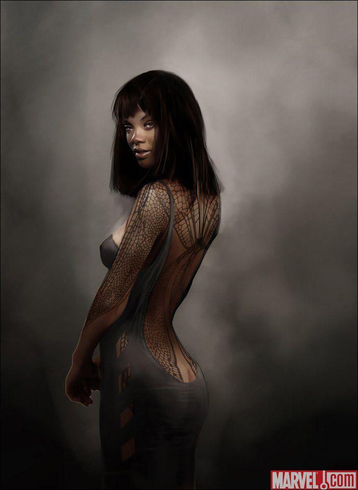 Angel Salvadore, X-Men First Class Concept Art  by Howard Swindell