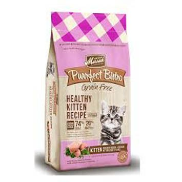 Review and rating for Merrick's Purrfect Bistro Healthy Kitten dry cat food
