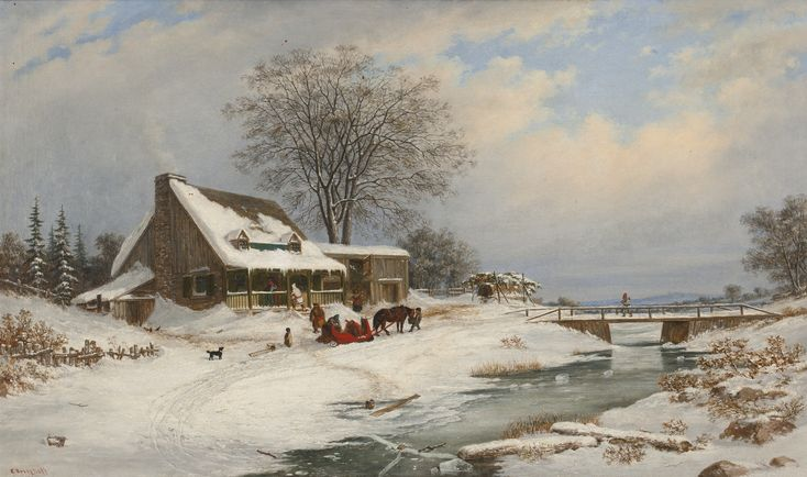cornelius krieghoff paintings - Google Search