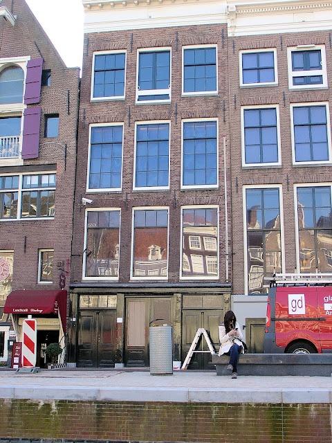 Anne Frank Haus in Amsterdam.