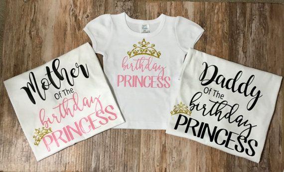Personalizado vinilo cumpleaños princesa por EmmaAlyseDesigns