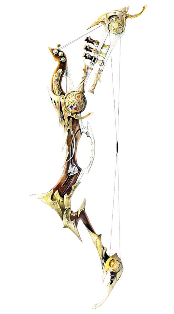 Bard's Failnaught from Final Fantasy XIV: Stormblood #illustration