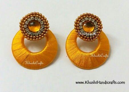 Silk thread jewelry Chandbali