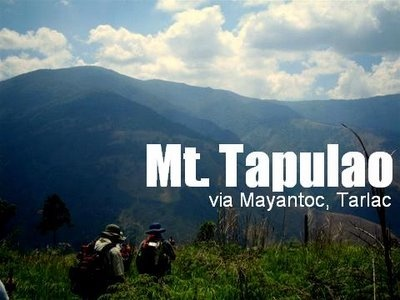 Mt. Tapulao/ Tarlac-Zambales Traverse (2,037 +) ~ Pinoy ...