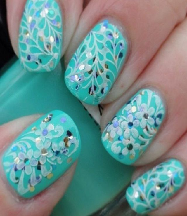 Nail Art Games For Girls Only: Best 20+ Teal Nail Designs Ideas On Pinterest