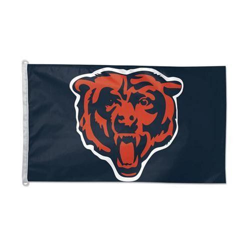 """Chicago Bears NFL 3x5 Banner Flag (36x60"""")"""""""