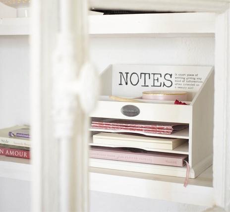 Handig om brieven en notities in op te ruimen. Zo kan je dan toch alles weer makkelijk terug vinden.