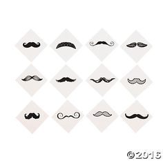 ... Mustache Tattoo on Pinterest | Mustache Finger Tattoos Neck Tattoos