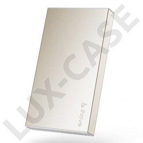 IHAVE BOSS (Guld) 10000mAh Dual USB Power Bank til Smartphones og Tablets
