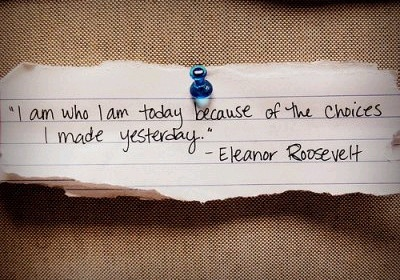 - eleonor roosevelt to go under or in between the butterfly wings