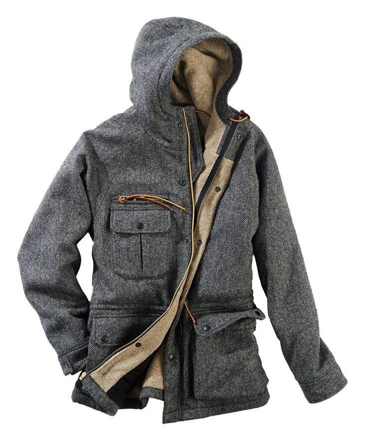Men's Wool Mountain Parka by WOOLRICH® The Original Outdoor Clothing Company