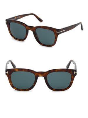 f423661bb00c3 TOM FORD Eugenio 52MM Square Sunglasses.  tomford