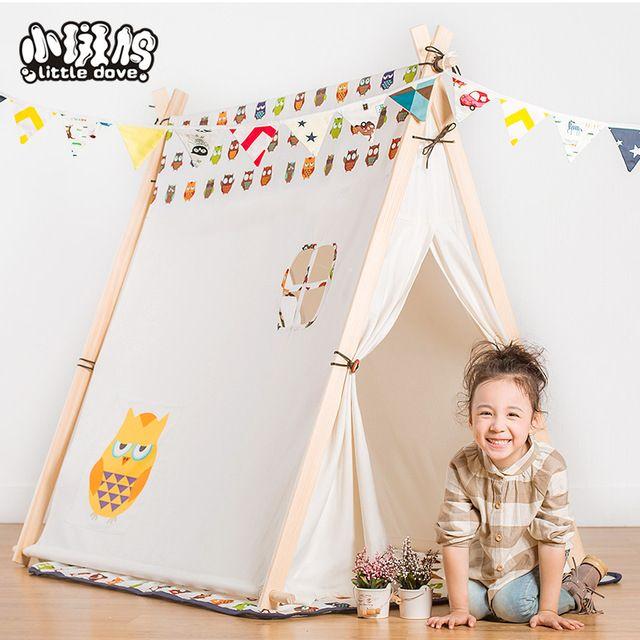 Namiot dla dzieci bardzo duże kryte gry dom mężczyzna zabawki dom zabaw Duży namiot księżniczki teepee namiot