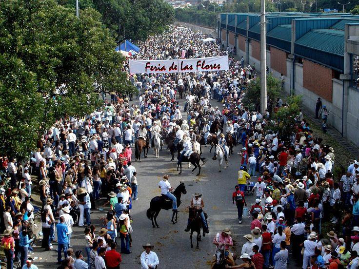 Feria de las Flores, Medellín.