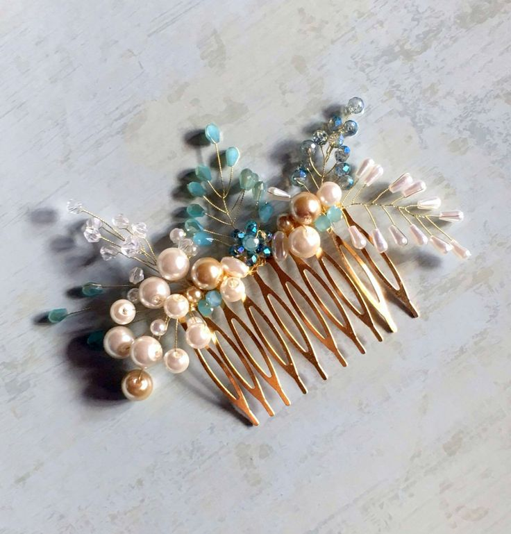 A personal favorite from my Etsy shop https://www.etsy.com/listing/482201037/hair-comb-decorative-hair-comb-bridal
