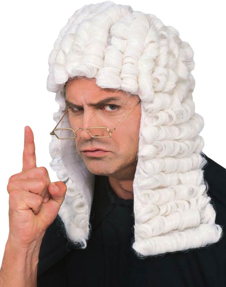 Judge Costume Wig