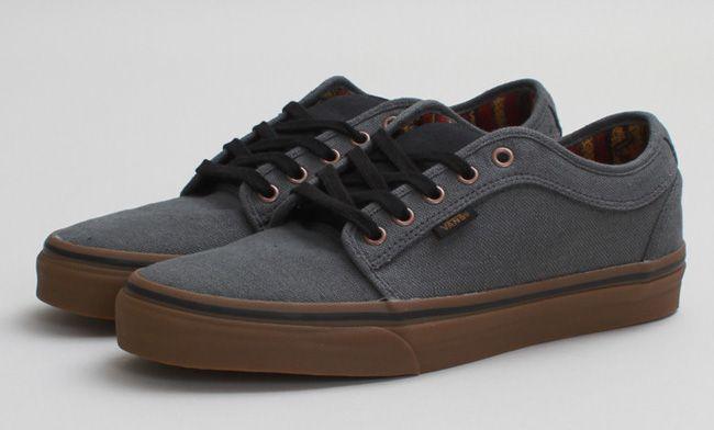 Vans Chukka Low 'Hemp' | Dark Grey & Gum