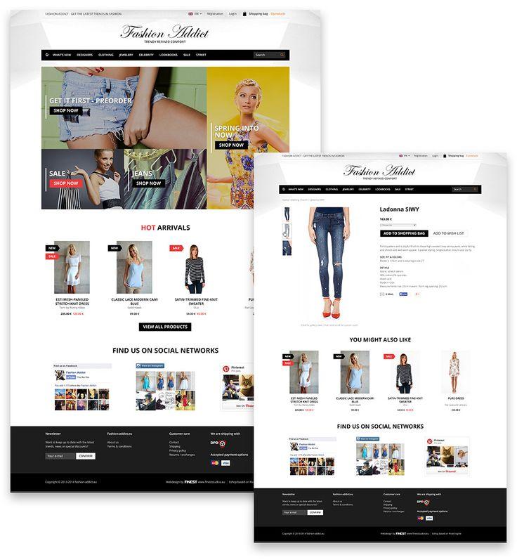 Fashion Addict e-shop www.fashion-addict.eu