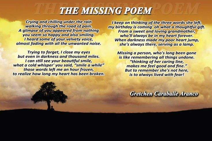 Veterans Day Thank You Poems | The Missing Poem - Sad