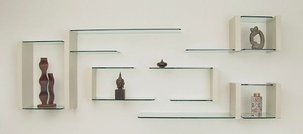 дизайнерские стеклянные полки - Поиск в Google