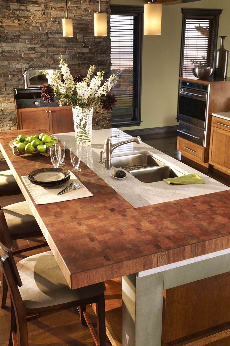 17 Best Images About Butcher Block Countertops On