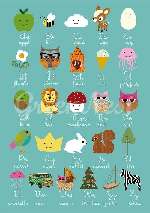#Alphabet #kids | greennest