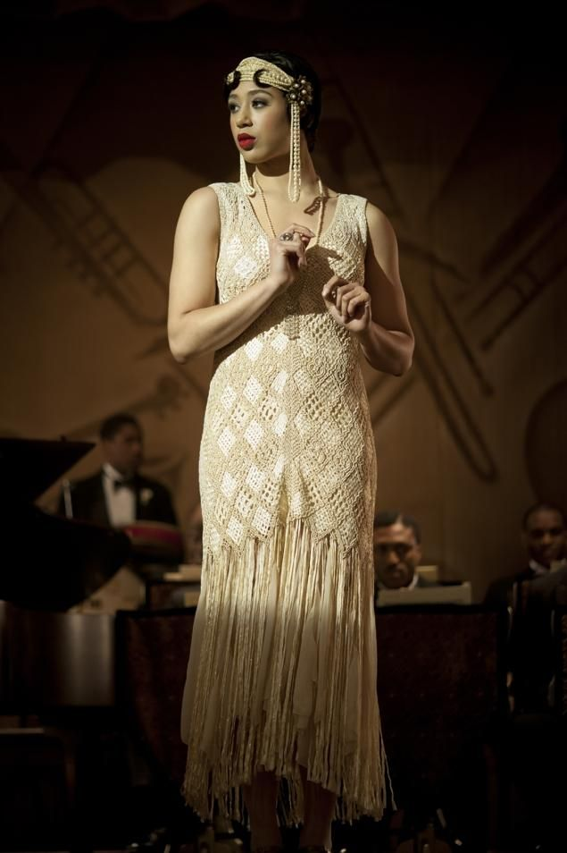 "Margot Bingham as Daughter Maitland in ""Boardwalk Empire"""