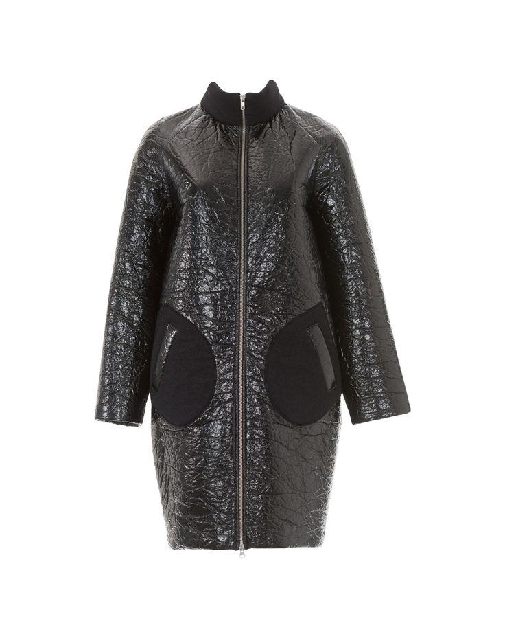 Пальто о-силуэта - выкройка № 117 из журнала 9/2016 Burda – выкройки пальто на…