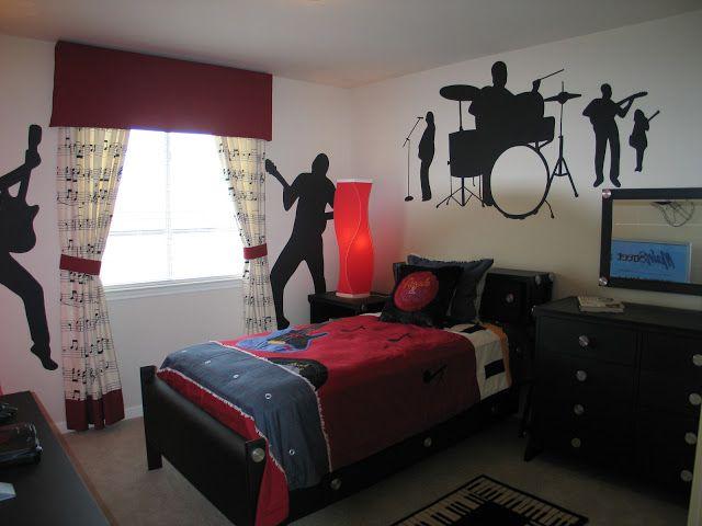 Teen Boys Rock N Roll Room