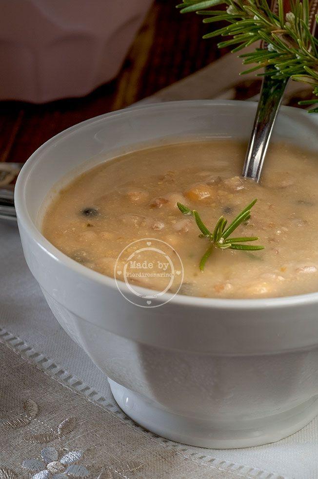Zuppa di ceci con fagioli e farro by Fiordirosmarino