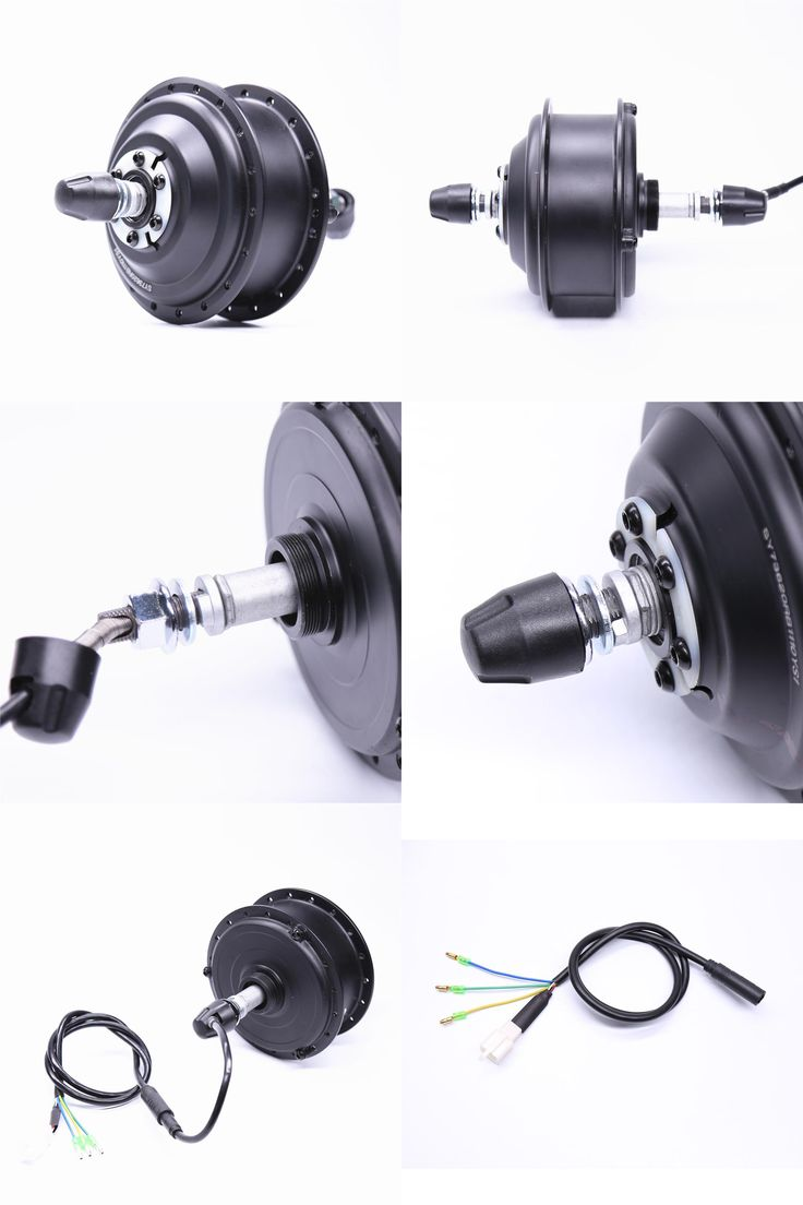 [Visit to Buy] Electric Bicycle Sale 36v 350W rear wheel motor Brushless Bicicleta Eletrica 2017 Hot Dgw07-md Hub Motor For Electric Bike  #Advertisement