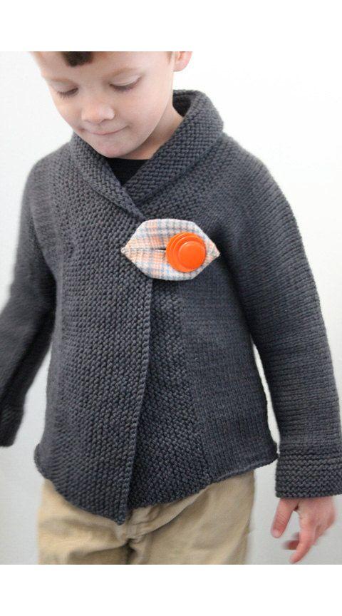 Direct Download PDF tricot Pattern châle col pull par sweetKM