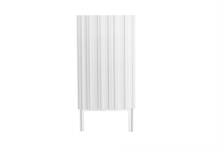 White small cabinet! Modern design by Björn Welander. @WELANDER DESIGN