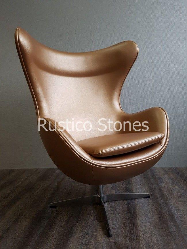 Egg Chair loungestoe Landelijk stoer modern kan ook bij Rustico Woonwinkel in Eibergen l
