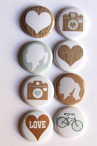 I'm pinning pins, and that just made me laugh!  And these are cute!  :)