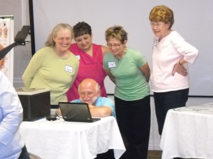 Looking at photos of when we were at the National Foundation for Women Legislators Conference in Iowa last year. www.AmericanAcademyofReflexology.com